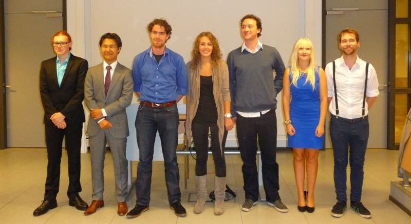 Three lab members become master of Science